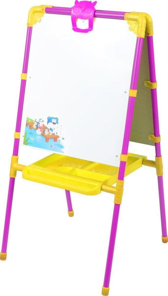 Детский мольберт с магнитным набором