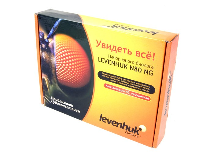 Набор микропрепаратов Levenhuk (Левенгук) N80 NG «Увидеть все!»