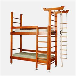 Двухъярусная кровать с ДСК
