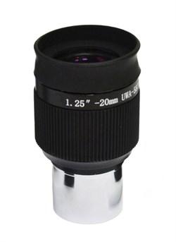 "Окуляр Levenhuk (Левенгук) UWA 58° 20 мм, 1,25"""