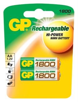 Аккумулятор GP AA 1800 мАч NiMH