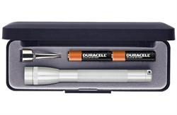 Фонарь MAG-LITE Mini 12,7 см, серебристый, в пластиковой коробке