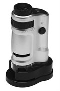 Микроскоп карманный Kromatech 20–40x, с подсветкой (MG10081-8)