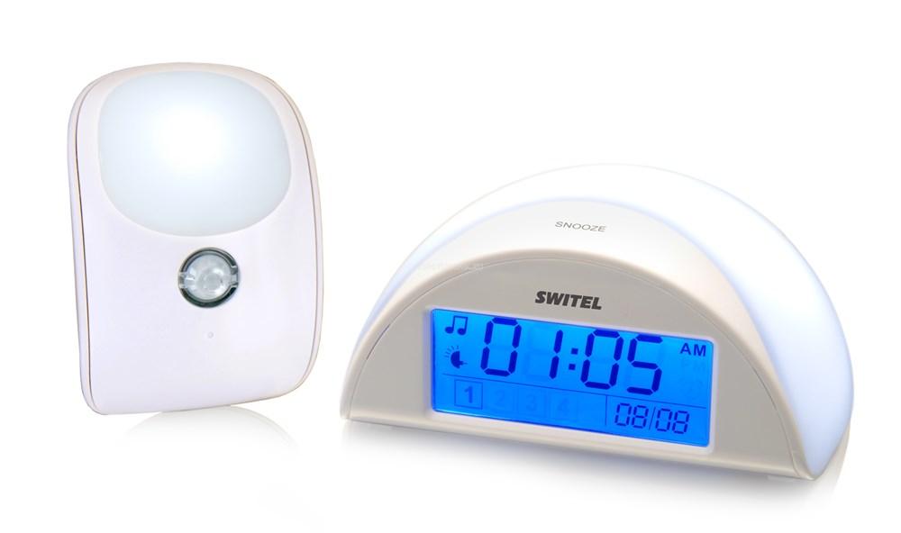 Автоматический детский ночник с функцией радионяни Switel BC 110