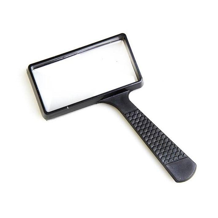 Лупа на ручке Veber 2x/4x, 100x50 мм (10050)