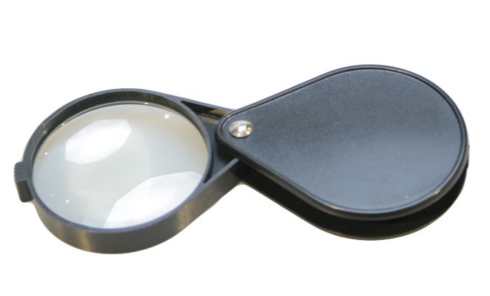 Лупа складная Veber 5x, 60 мм, черная (1015)