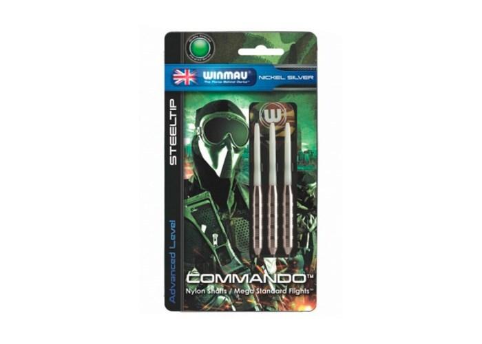 Дротики Winmau Nickel Silver Commando 21gr