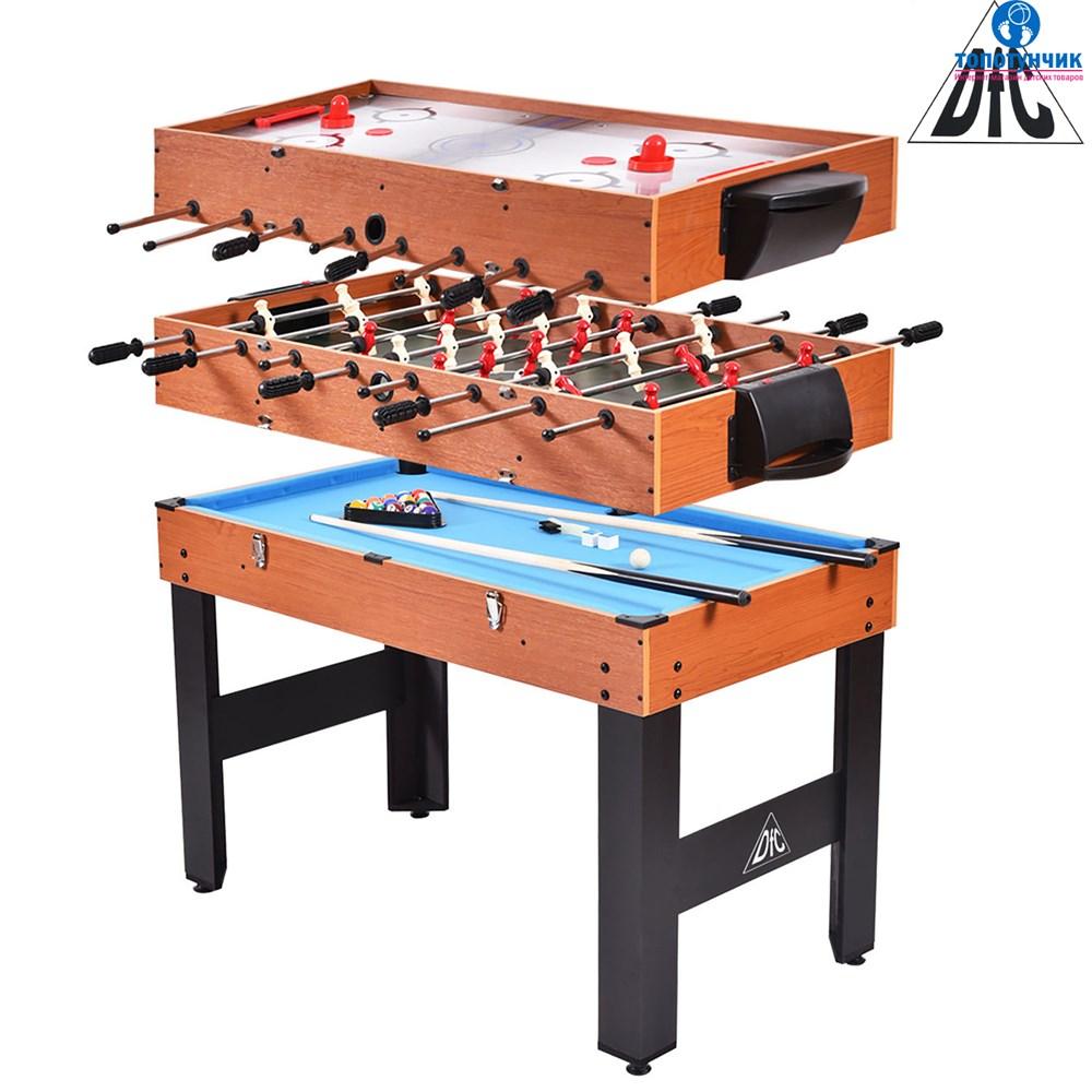 """Игровой стол трансформер DFC SOLID 48"""" 3 в 1"""