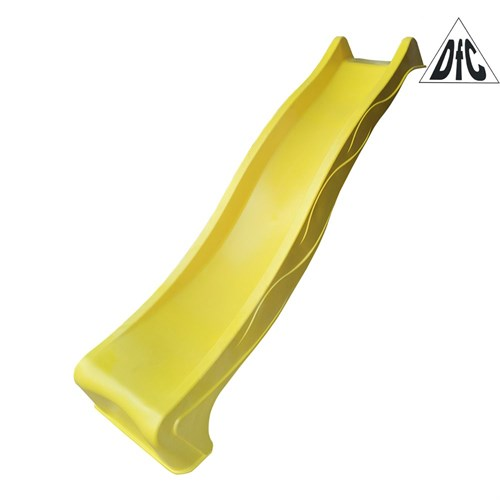 Горка волнистая DFC Slider 2.3 м желтая