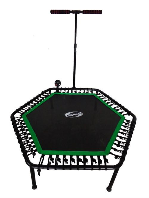 Фитнес - батут SportElite 135см. FB-1351 с ручкой и компьютером