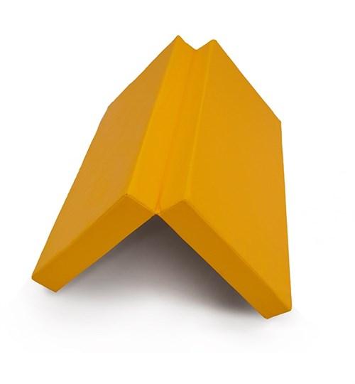 "Мат № 10 (100 х 150 х 10) складной 1 сложение ""КМС"" жёлтый"
