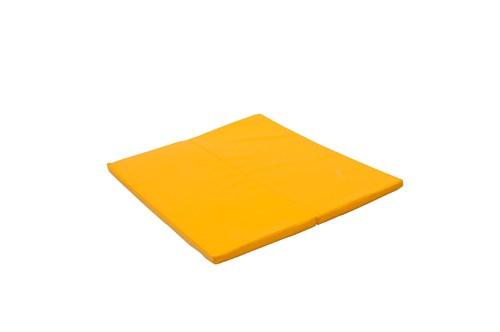 """Мат № 16 (135 х 123 х 4) складной """"PERFETTO SPORT"""" жёлтый"""