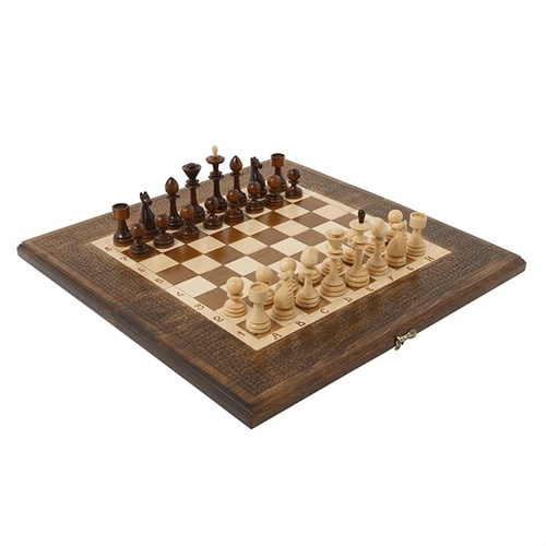 Шахматы + Нарды резные 50, Haleyan