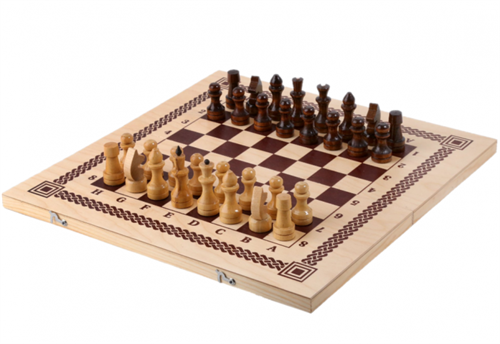 Игра три в одном (шахматы, шашки, нарды) (Орлов)