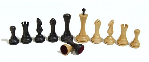 """Шахматные фигуры Сенеж """"Престиж"""", бук"""