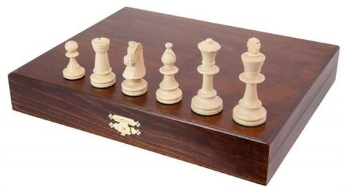 """Шахматные фигуры в ларце """"Стаунтон Люкс"""", Wegiel"""