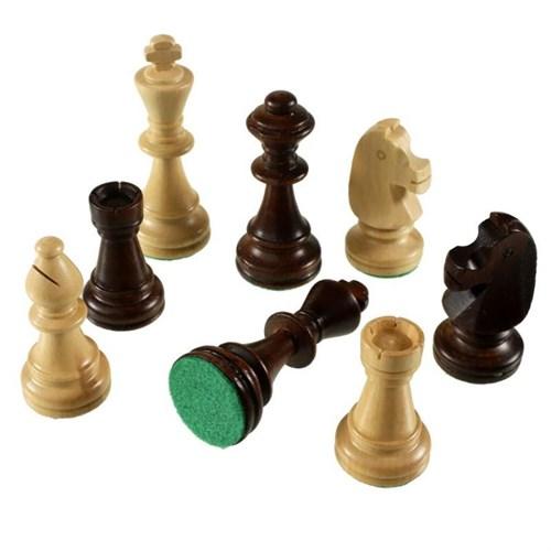 """Шахматные фигуры """"Стаунтон 4"""" в полиэтиленовой упаковке, Madon"""