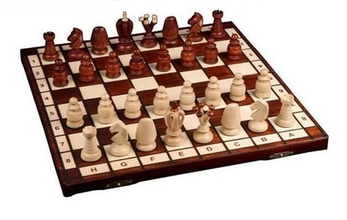 "Шахматы ""Роял 44"", Wegiel"