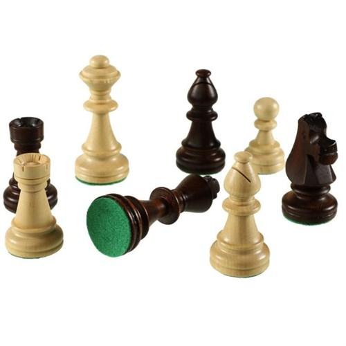 """Шахматные фигуры """"Стаунтон 7"""" в полиэтиленовой упаковке, Madon"""