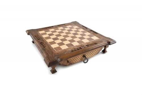 Шахматы резные в ларце с ящиками 50, Haleyan