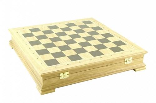 "Шахматный ларец ""Стаутон"" 45 мм, дуб, без фигур"