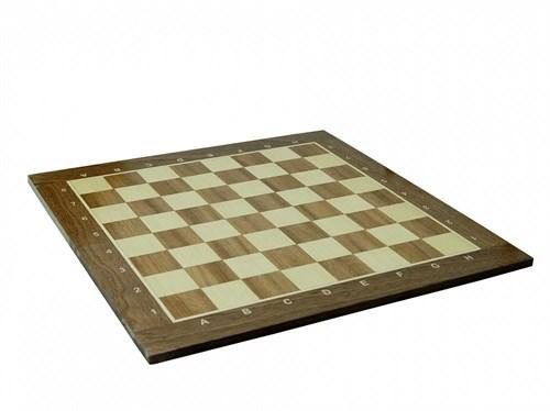 Шахматная доска нескладная 50мм, махагон