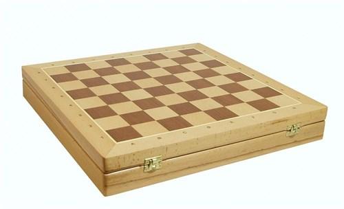 Шахматный ларец Woodgames Бук, 45мм