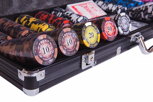 Набор для покера Frost на 500 фишек - фото 108088