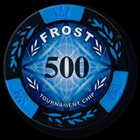 Набор для покера Frost на 500 фишек - фото 108093