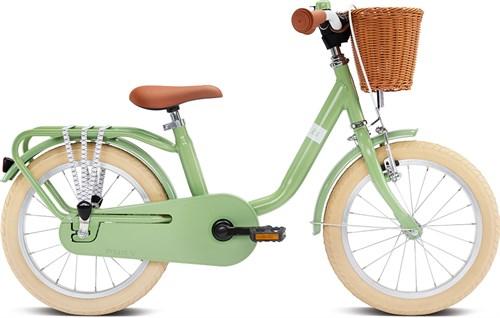 Двухколесный велосипед Puky STEEL CLASSIC 16 4233 retro green зеленый