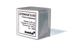 Стекла покровные Levenhuk (Левенгук) G100, 100 шт.