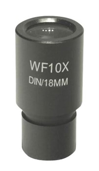 Окуляр 10х/18 (D23,2 мм) для микроскопов, со шкалой