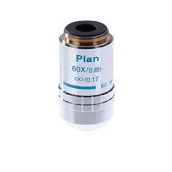 Объектив 60х/0,85 Plan Л беск/0,17 для микроскопа Микромед-3 ЛЮМ