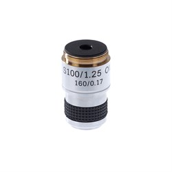 Объектив 100х/1,25МИ 160/0,17 для микроскопов Микромед С-12, С-1, Р-1