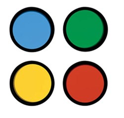 Набор цветных фильтров Meade №1 (12, 23A, 58, 80A)