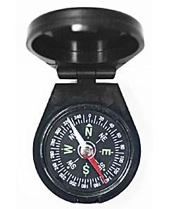 Компас Kromatech 45 мм, с крышкой (черный)