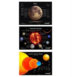 Комплект постеров Levenhuk (Левенгук) «Космос», пакет