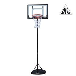 Мобильная баскетбольная стойка DFC KIDS4 80x58cm полиэтилен