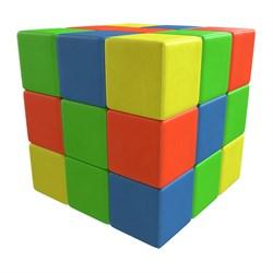 Мягкий конструктор Кубик-рубик ДМФ-МК-27.90.13
