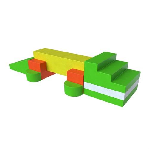 Мягкий модуль Крокодил Романа