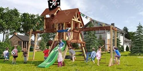 Савушка Lux 10 уличная спортивная площадка для детей