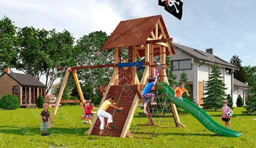 Савушка Lux 2 уличная спортивная площадка для детей