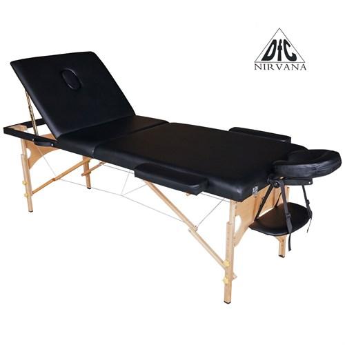 Массажный стол DFC NIRVANA Relax Pro (чёрный), +7(800) 551-96-04, Топотунчик.ру