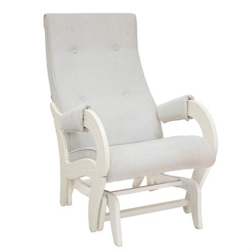 Кресло для кормления Milli Ice, Дуб шампань, ткань Verona Light Grey