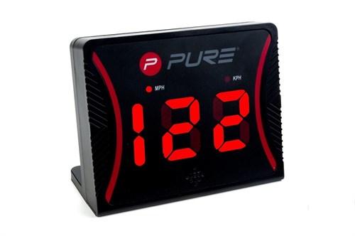 Личный спортивный радар поможет точно измерить скорость бега, которая Вам по силам.