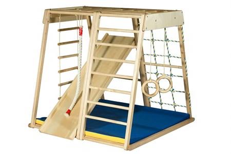 Детский деревянный спортивный комплекс KIDWOOD Парус Оптима
