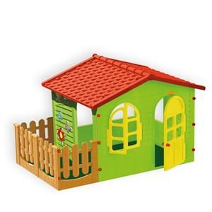 Домик с забором садовый Mochtoys 10498