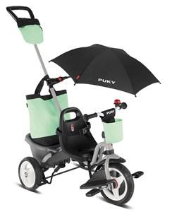 Трехколесный велосипед Puky Ceety Comfort grey/mint серый/мятный