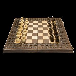 """Шахматы + нарды резные""""Армянский Орнамент"""" 50, Haleyan"""
