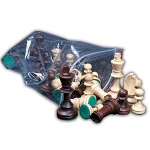 """Шахматы """"Стаунтон 4"""", (фигуры в отдельном пластиковом пакете), Wegiel"""